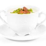 Zupa krem z kalafiora z kurkami - Izabela Płóciennik Catering Optima Wrocław