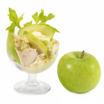 Sałatka Waldorf z zielonym jabłkiem i selerem naciowym - Izabela Płóciennik Catering Optima Wrocław