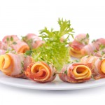 Roladki z oliwek, boczku i żółtego sera - Izabela Płóciennik Catering Optima Wrocław
