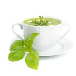 Zupa krem z zielonego groszku - Izabela Płóciennik Catering Optima Wrocław